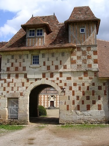 French Chateaux With Chequered Walls My French Country Home