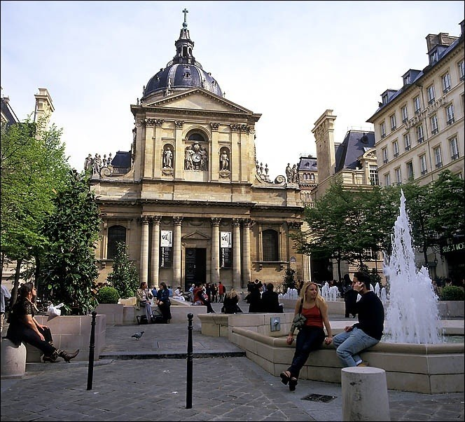 Paris step by step the 5th arrondissement my french for Sorbonne paris