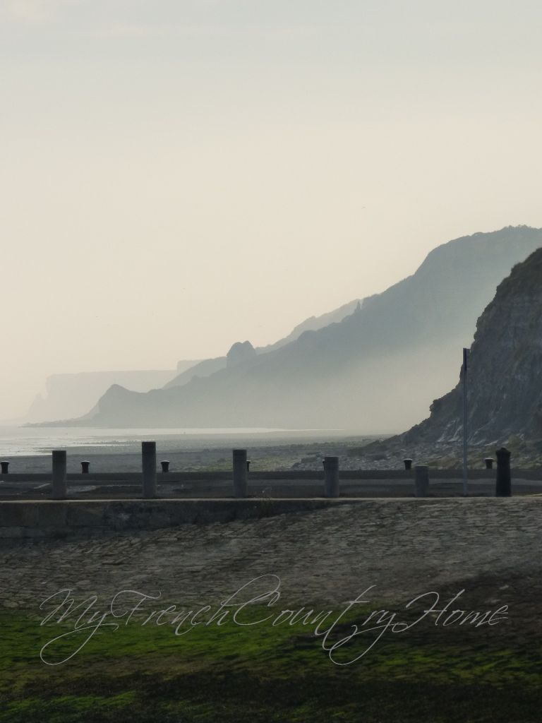 morning mist by the cliffs