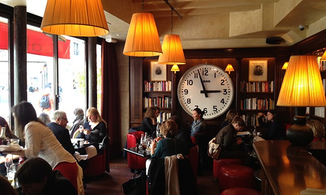 where we lunch in Paris ….