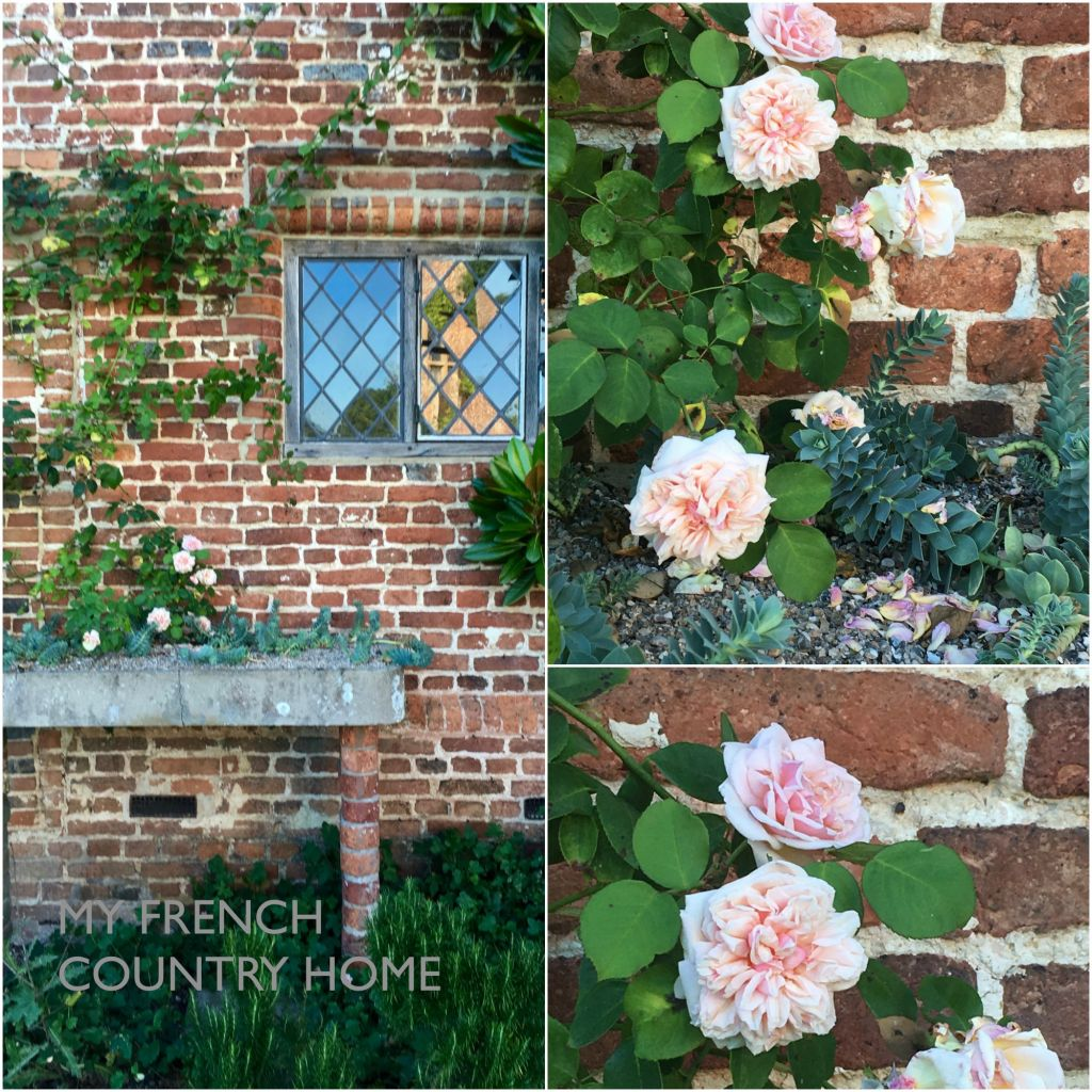 detail from sissinghurst gardens